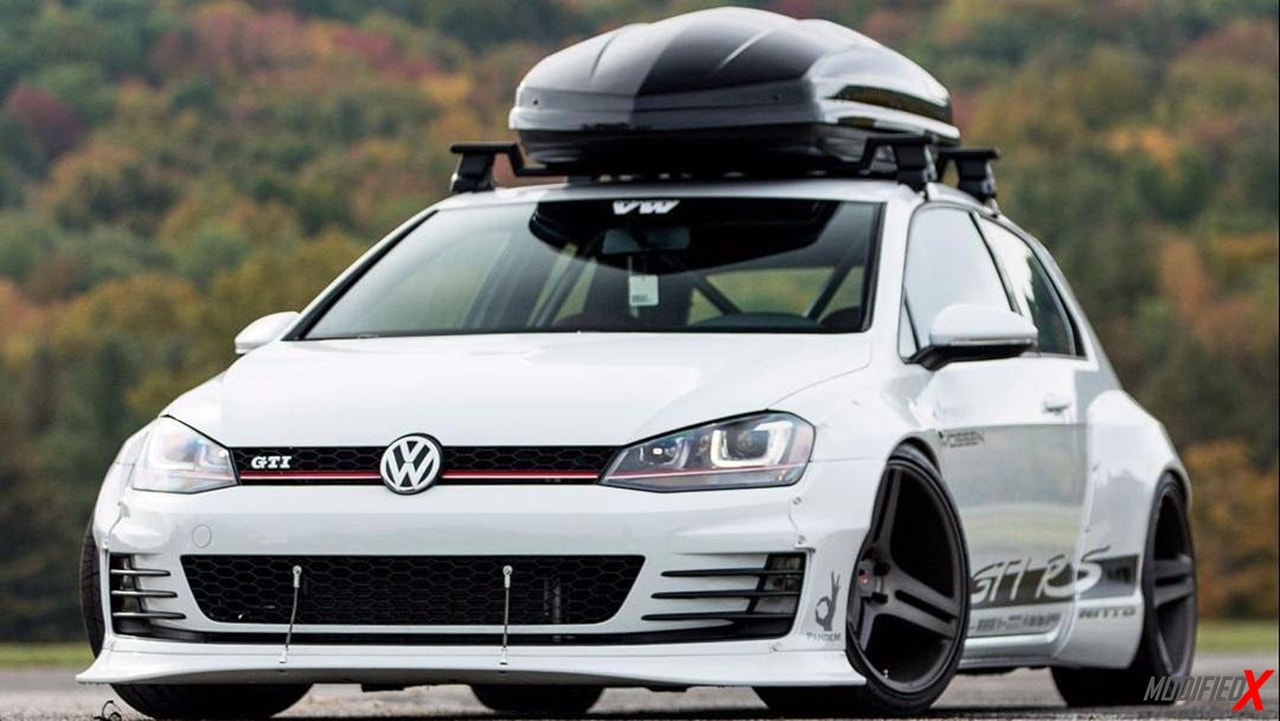 Modified VW Golf GTI