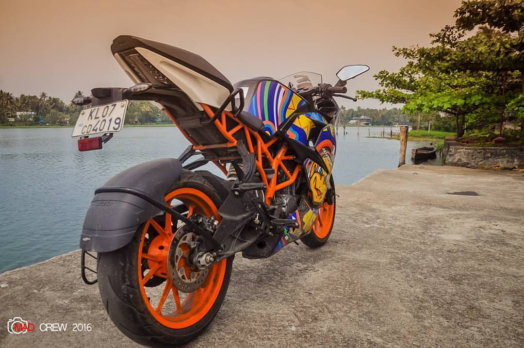 KTM RC 200 mod