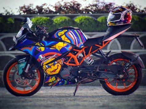 Modified KTM RC200