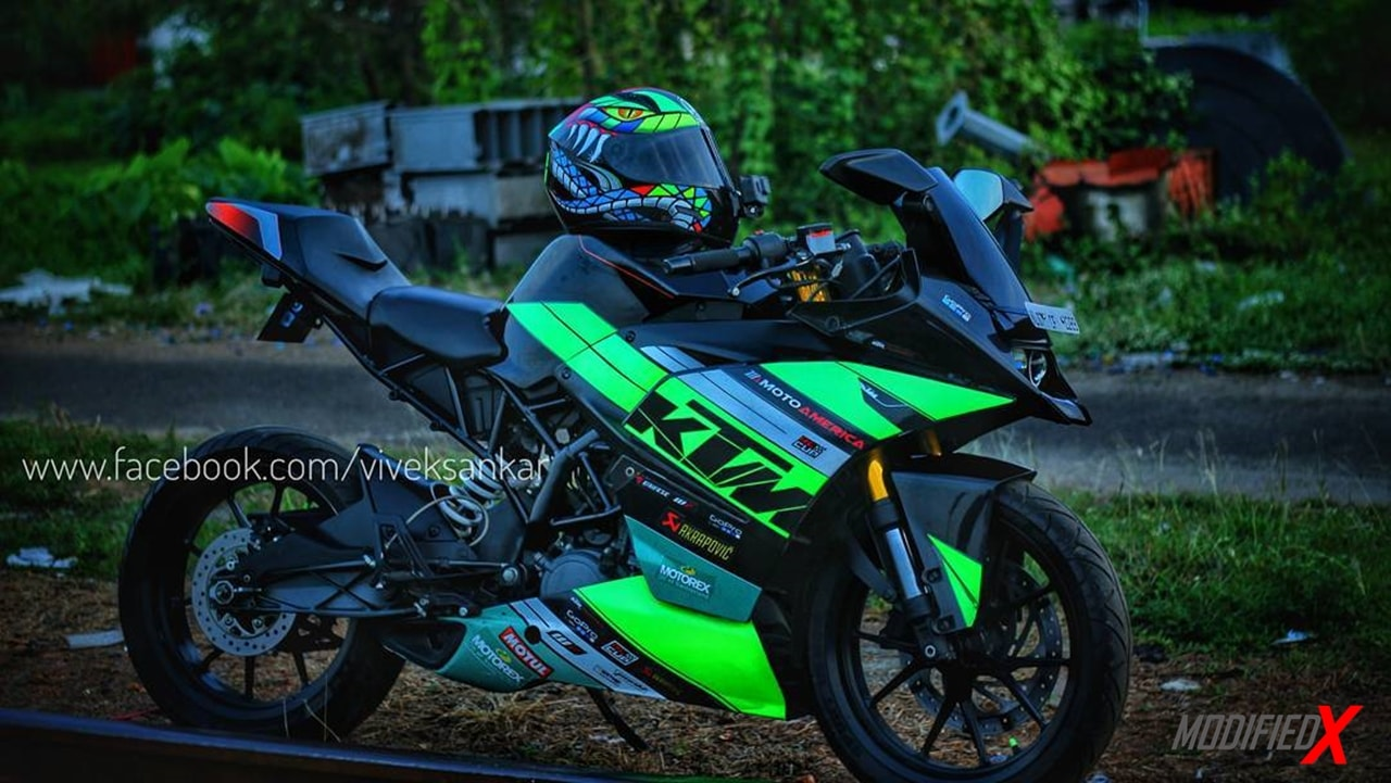 KTM RC 200  modification
