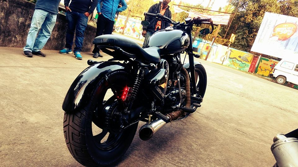 Royal Enfield Classic 350 modification