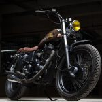 Vintage Bullet 350 modified
