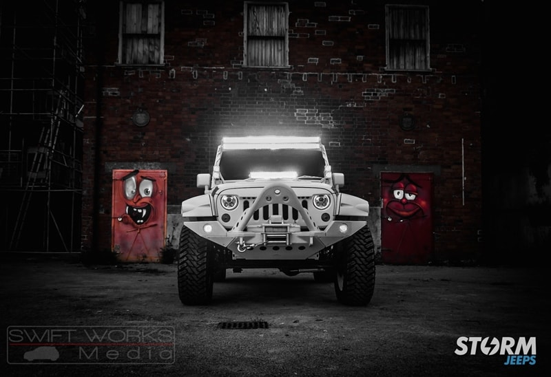 Custom 2015 Jeep Wrangler Rubicon Storm 11 Modifiedx