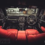 Jeep Wrangler custom interior