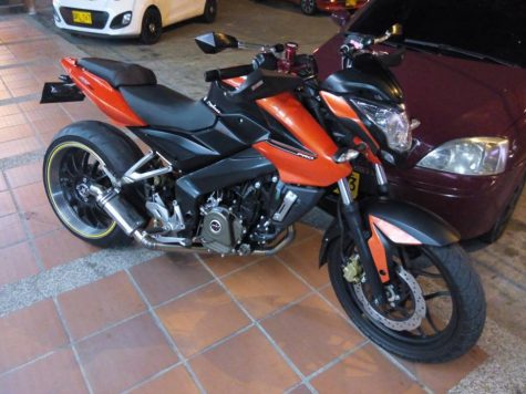Pulsar 200NS modified