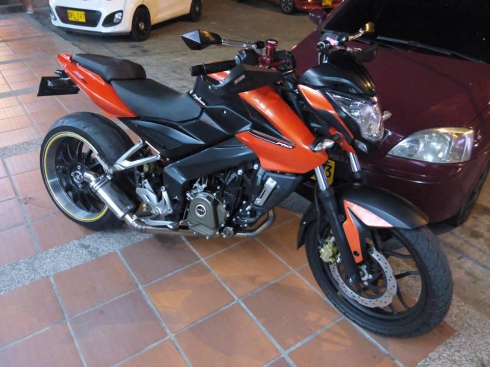 Pulsar 200NS modified