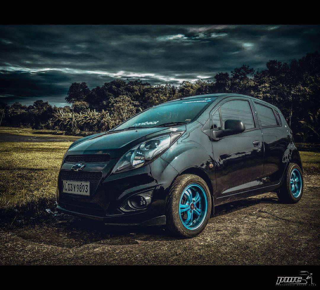 4 modified chevrolet beat from kerala