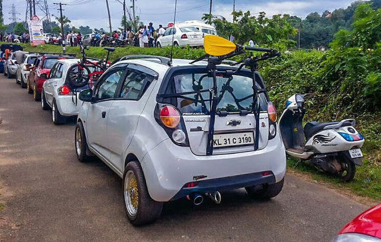 Chevrolet Beat modified 2017