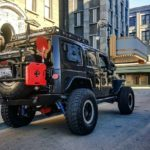 Offroad monster Jeep Wrangler Rubicon