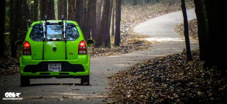 Suzuki Alto modified
