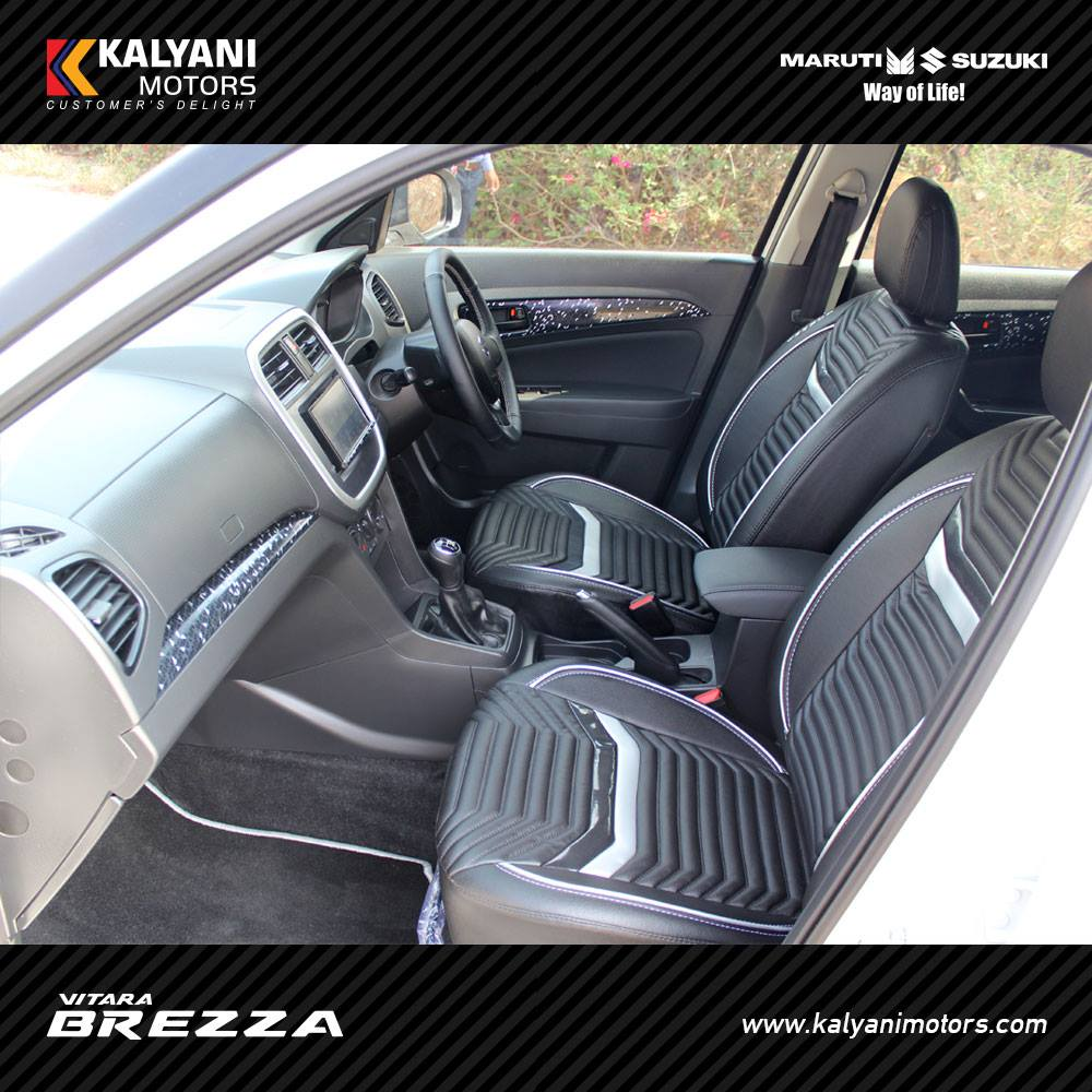 Maruti Vitara Brezza custom interior