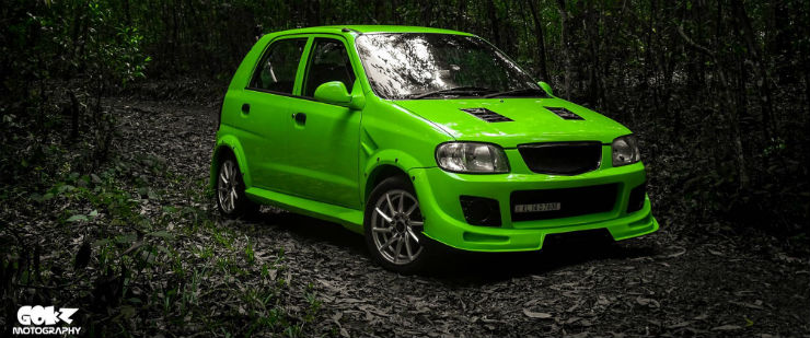 Modified Maruti Alto