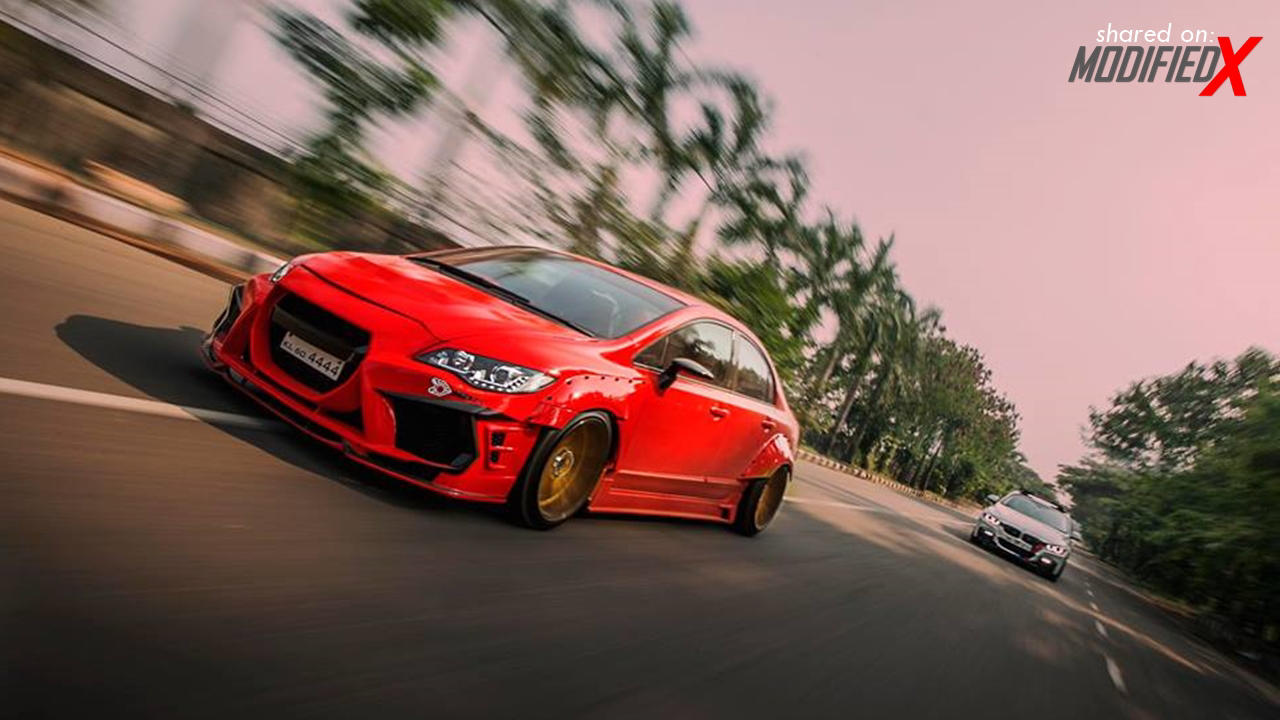 Modified Honda Civic HD wallpaper