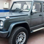 Force Gurkha converted to G-Wagon