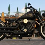 Custom HD Softail bobber