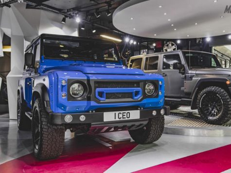 Modified Land Rover Defender UK
