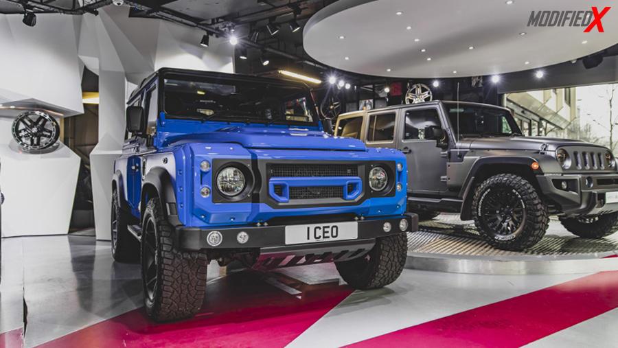 Modified Land Rover Defender UK