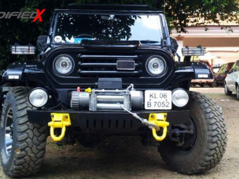 Mahindra Armada modified Kerala