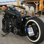 Softail modification