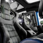 Custom LR Defender interior