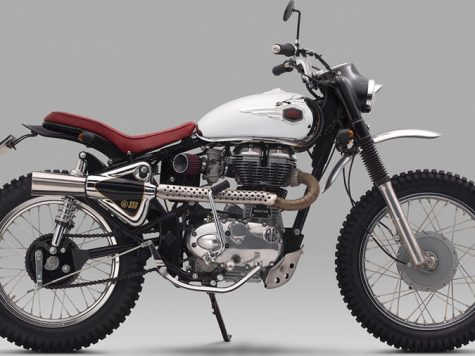 Offroad bullet scrambler modification
