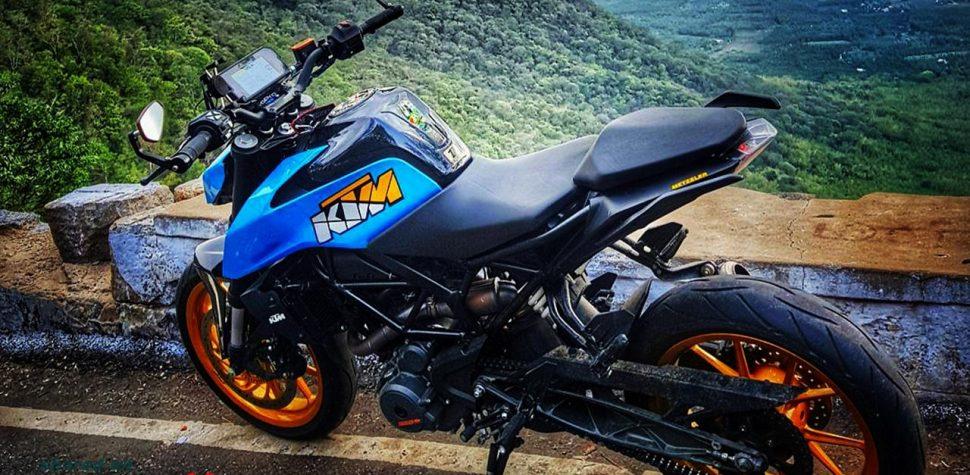 KTM Duke 390 2017 modified