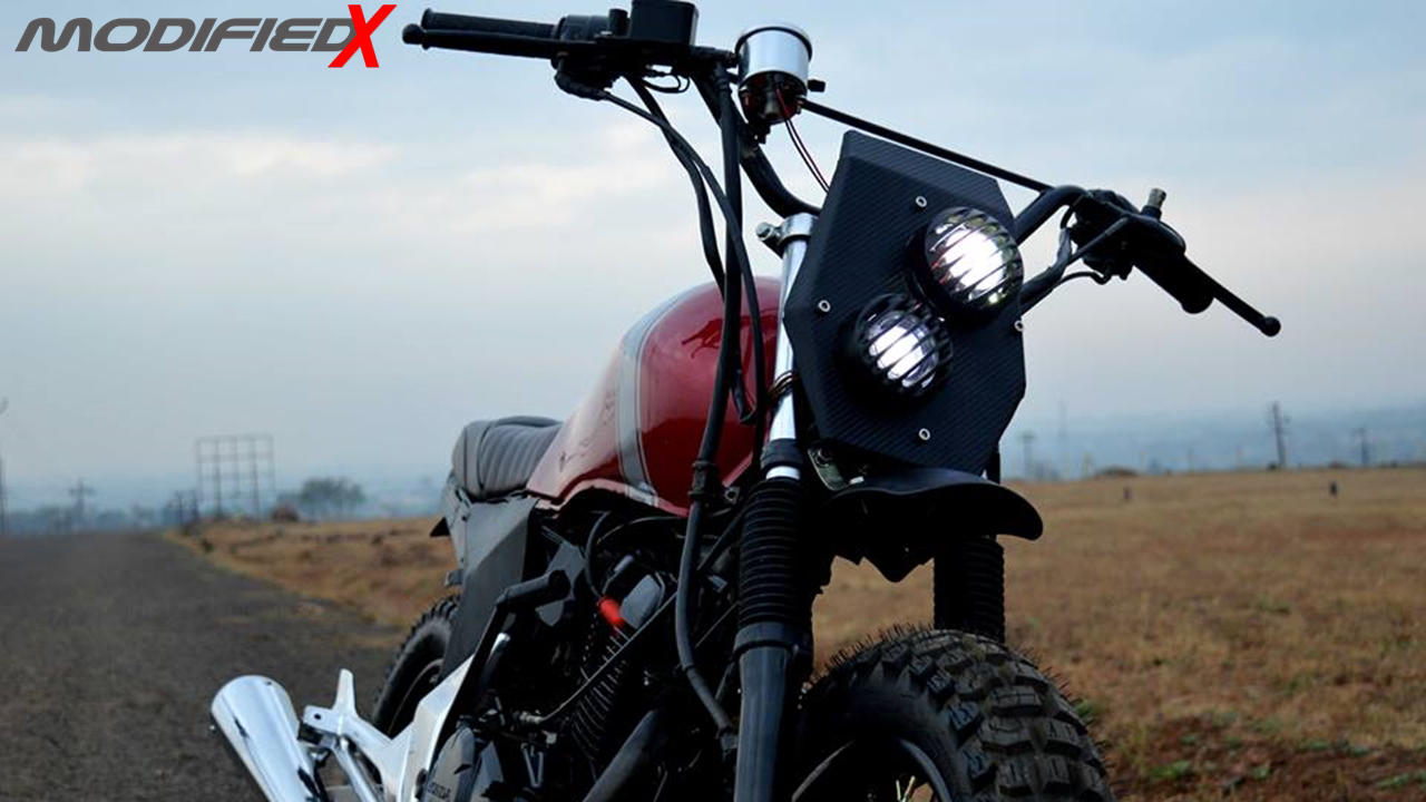 Unicorn modified scrambler