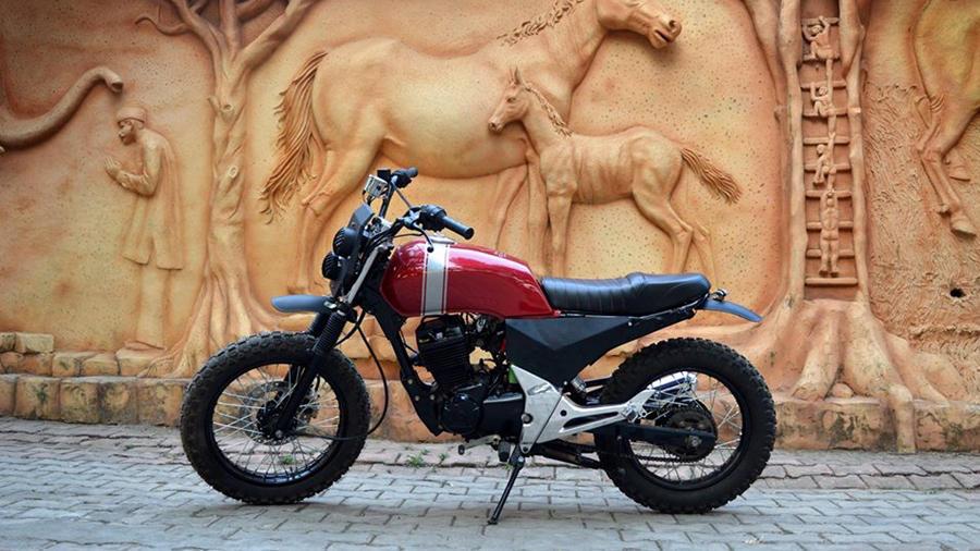 Custom Honda unicorn