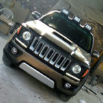 Fortuner to Jeep front