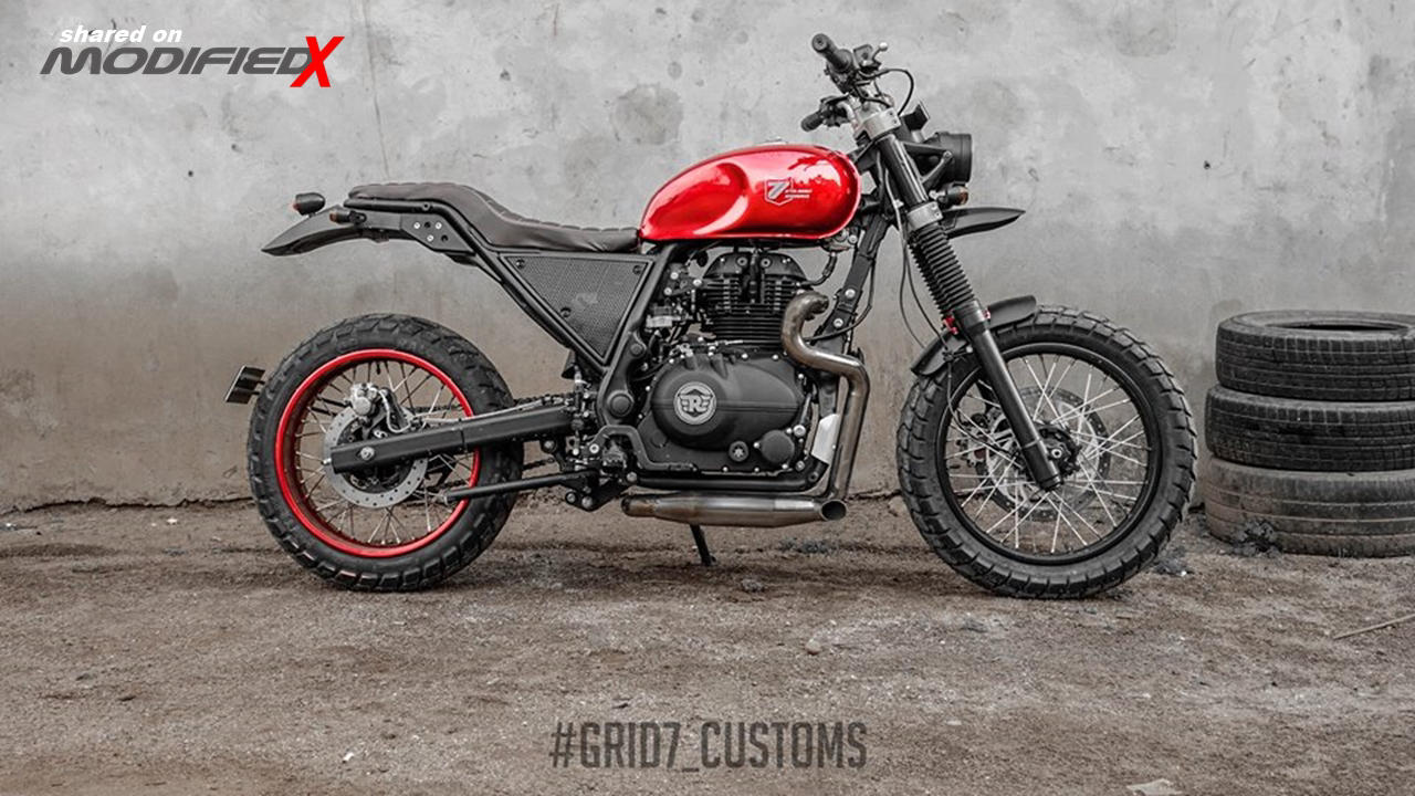 Modified Royal Enfield Himalayan by GRID7 Custom - ModifiedX