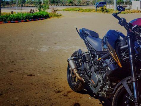 New 2017 KTM Duke 390 modified