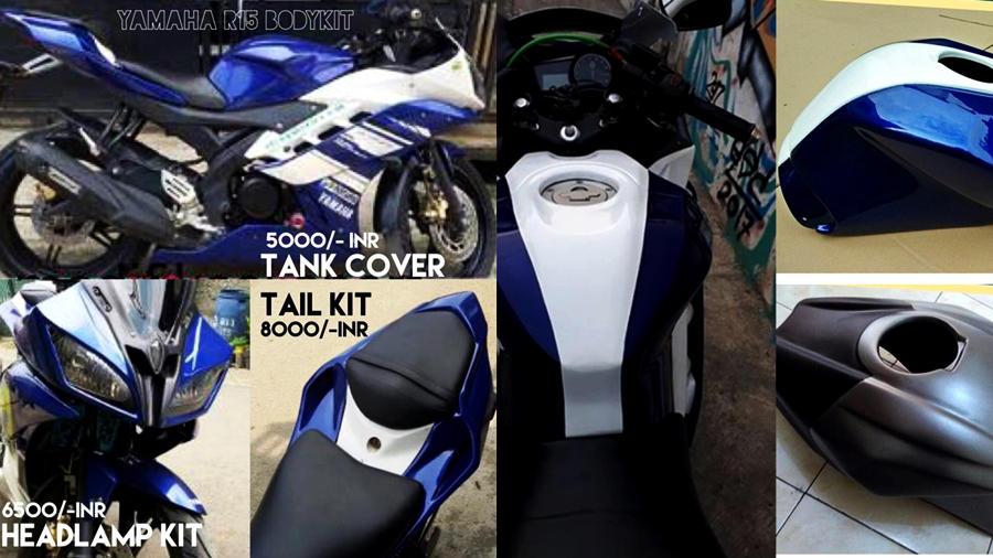 Yamaha R15 V2 to R6