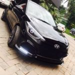 Black Custom Hyundai i20 by Retro Car Restoration