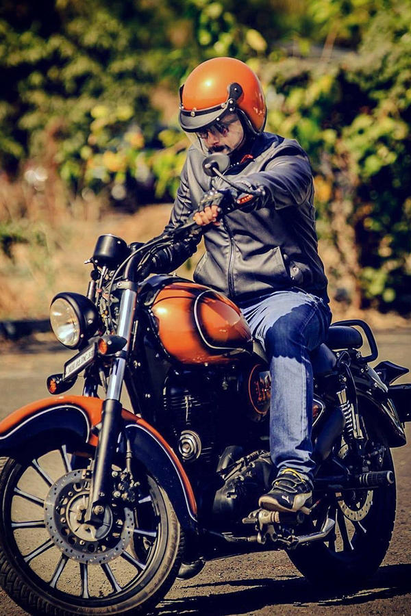 Royal Enfield Classic 350 Rebel Rust By Vardenchi Modifiedx