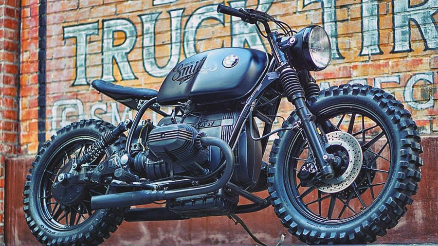 BMW R100 RS MODIFIED BLACK WOLF