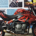 Modified Benelli TNT600i red