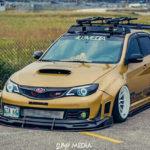 Modified Subaru WRX STI