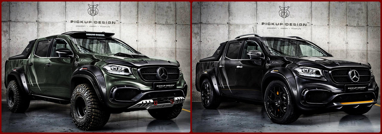 Custom Mercedes X Class Carlex design Off-Road