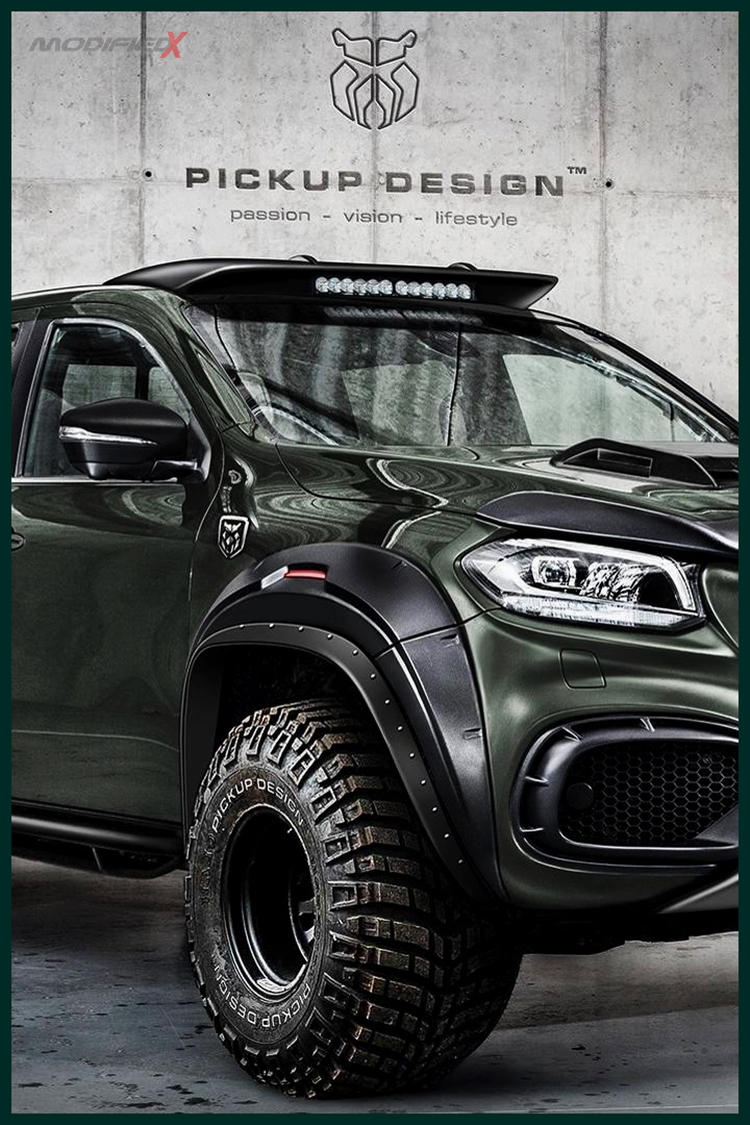 Custom Mercedes X-Class Pickup Off-Road
