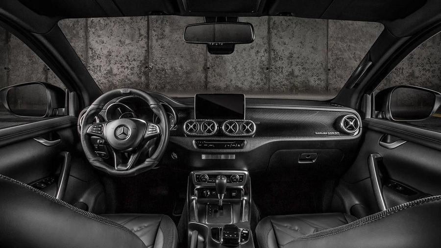 New X-Class interior black Modified