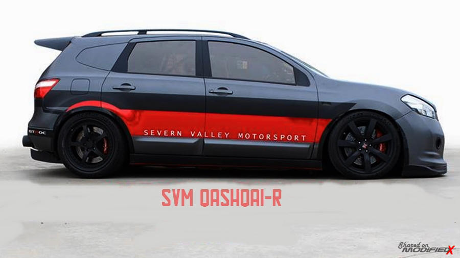 Custom 2000 hp Nissan Qashqai R by Severn Valley Motorsport (SVM)