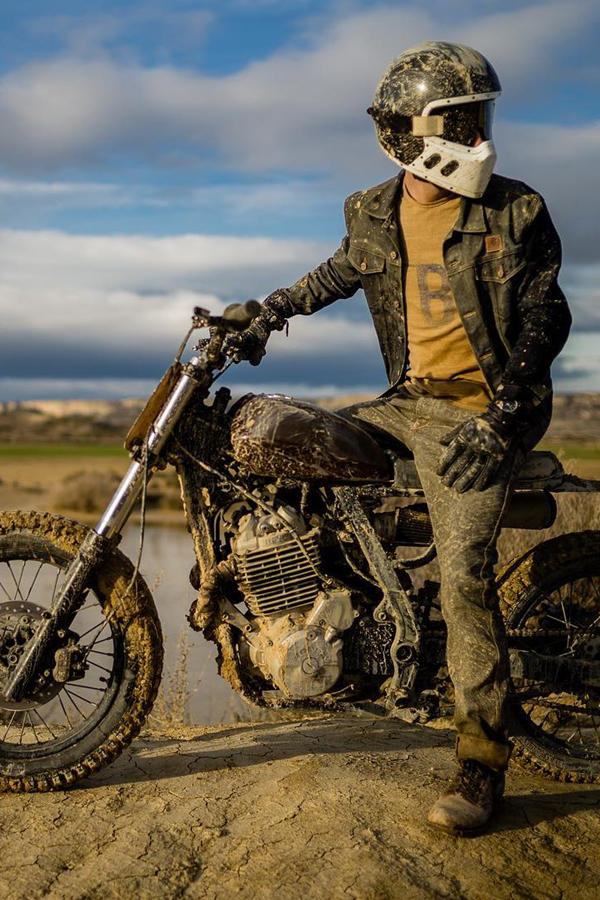 Custom Honda NX650 Dirt bike