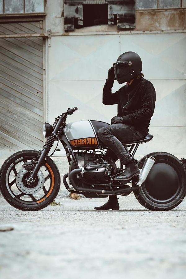 BMW R80 RT custom by Vagabund Moto
