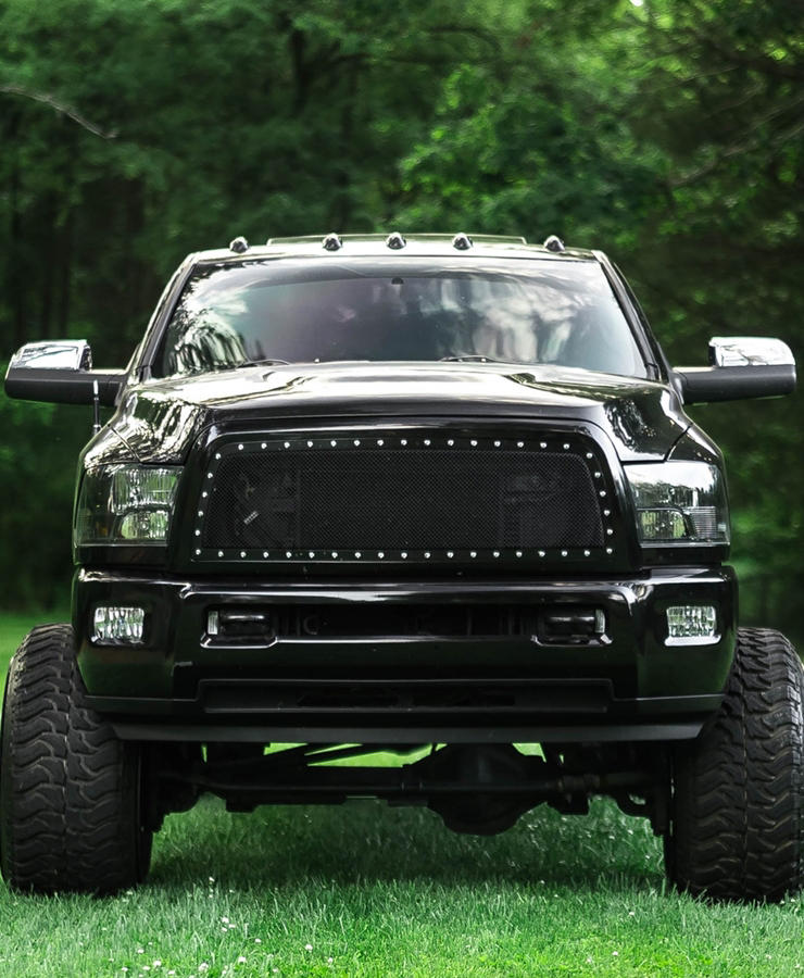 Custom Lifted Ram 2500 truck in South Carolina