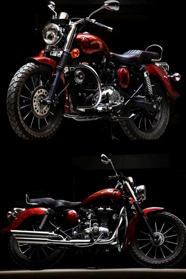 Royal Enfield Electra 350 Modification Eimor Customs