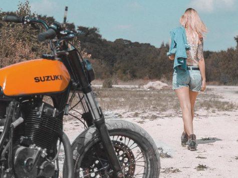 Suzuki DR650 Customised