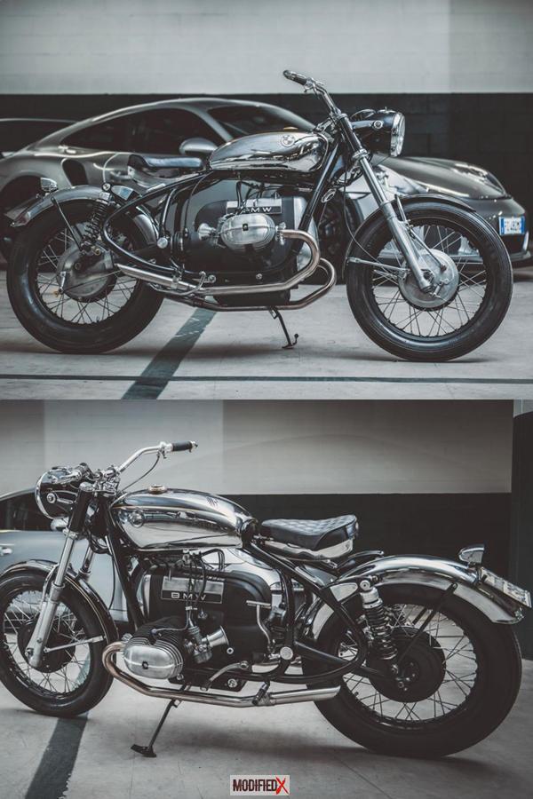 BMW R50 Custom Assolo by EMM