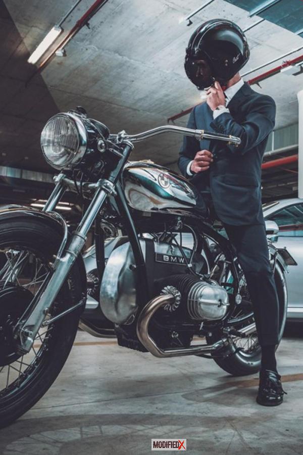 Custom BMW R50 rider