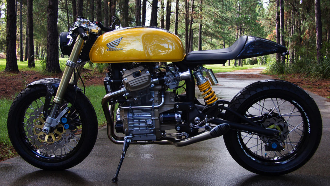 Custom Honda CX500 Cafe Racer