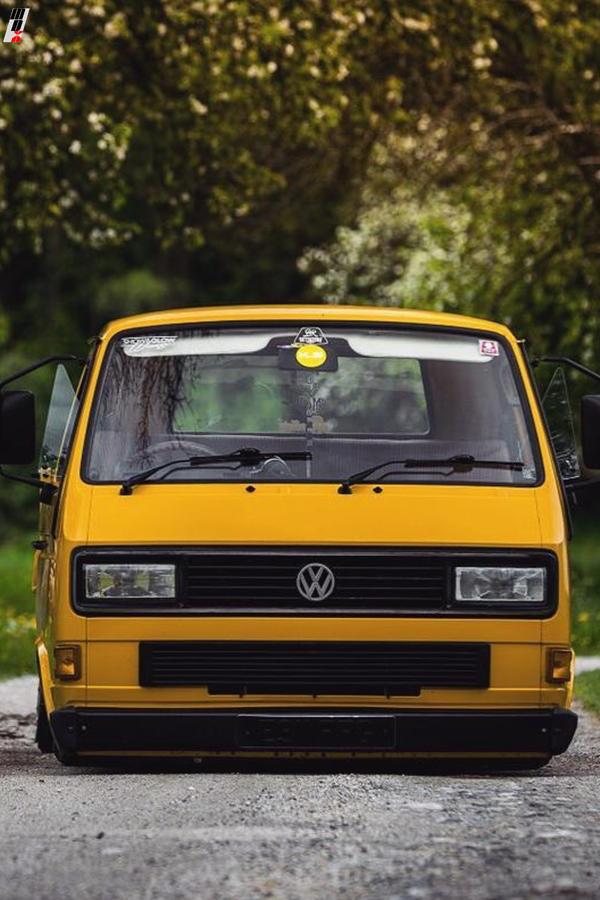 Custom Volkswagen T25 Transporter bus